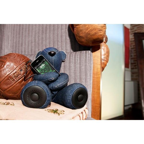 Niedźwiadek Hi-George z wbudowanym głośnikiem, denim