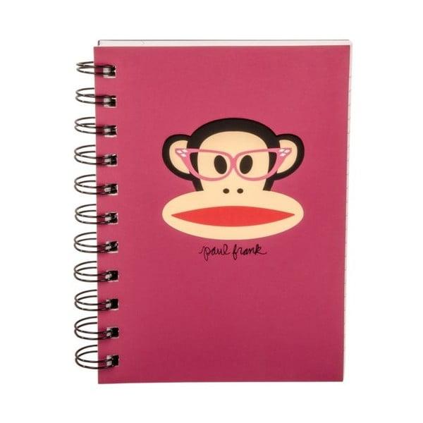 Notatnik Paul Frank Pink Monkey
