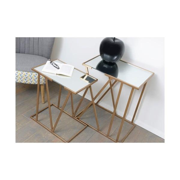 Zestaw 2 stolików Metal Table