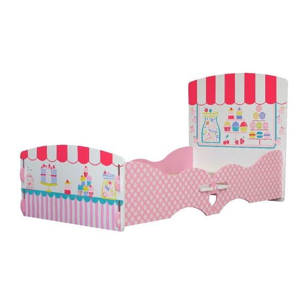 Dziecięce łóżko Patisserie, 147x80x60 cm