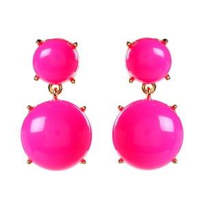 Kolczyki Bubble Gum Hot Pink
