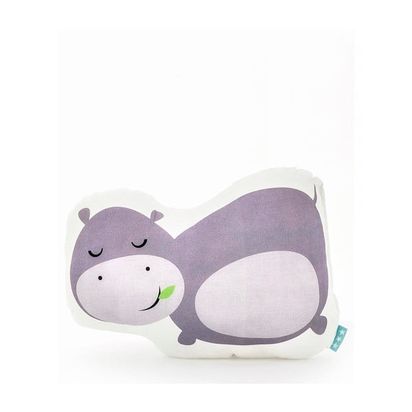 Poduszka bawełniana Mr. Fox Hippo 40x30 cm