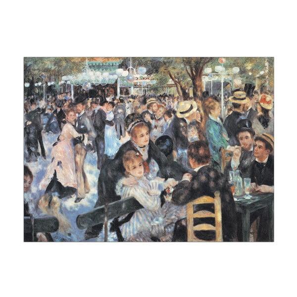 Obraz Auguste Renoir - Bal w Moulin de la Galette, 40x30 cm