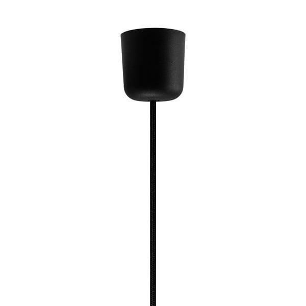Czarno-złota lampa wisząca Bulb Attack Cinco