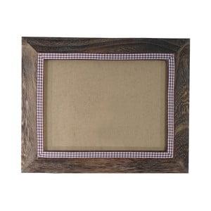 Brązowa ramka na zdjęcia Mendler Shabby, 21x26 cm