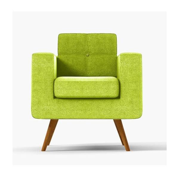 Fotel York Ibiza, zielony