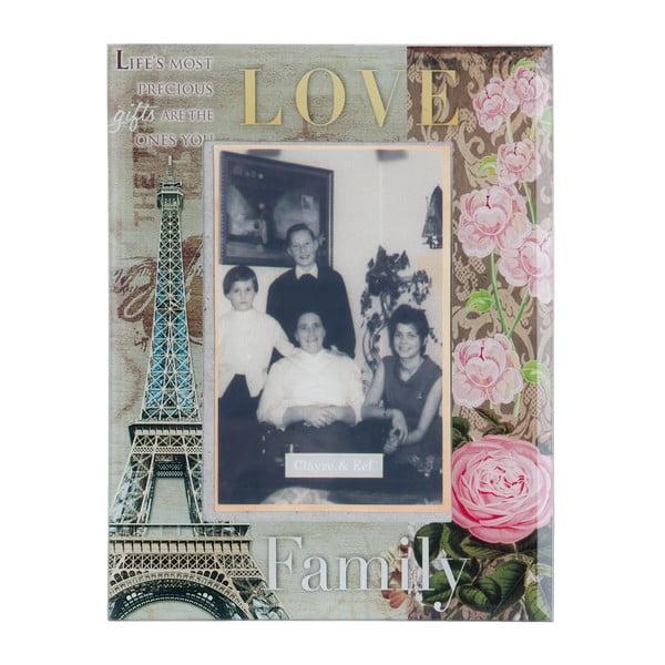 Ramka na zdjęcia Love Family, 17x22 cm