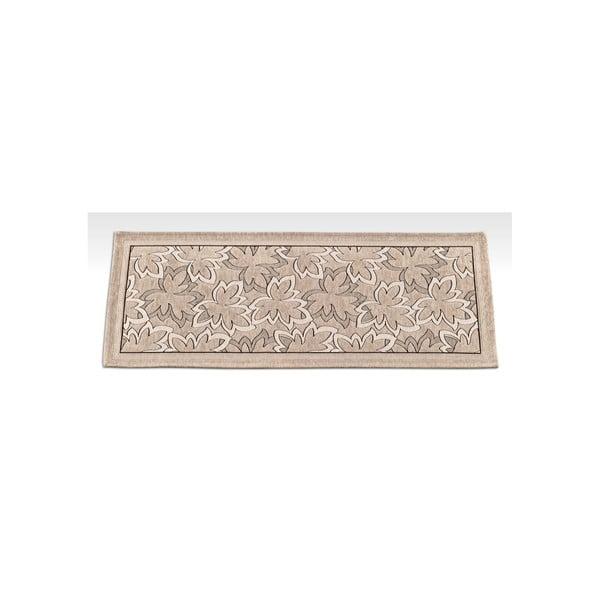 Wytrzymały dywan kuchenny Webtapetti Maple Tortora, 55x280 cm