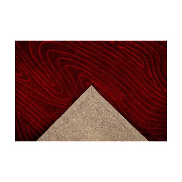 Dywan ręcznie tkany Zen, 120x180 cm, czerwony