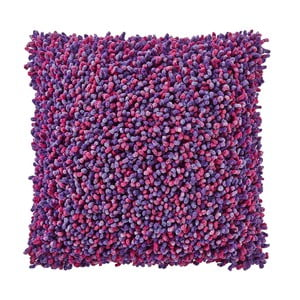 Poduszka z wypełnieniem Damien Purple, 45x45 cm