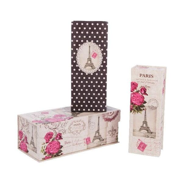 Zestaw 3 pudełek Love Life