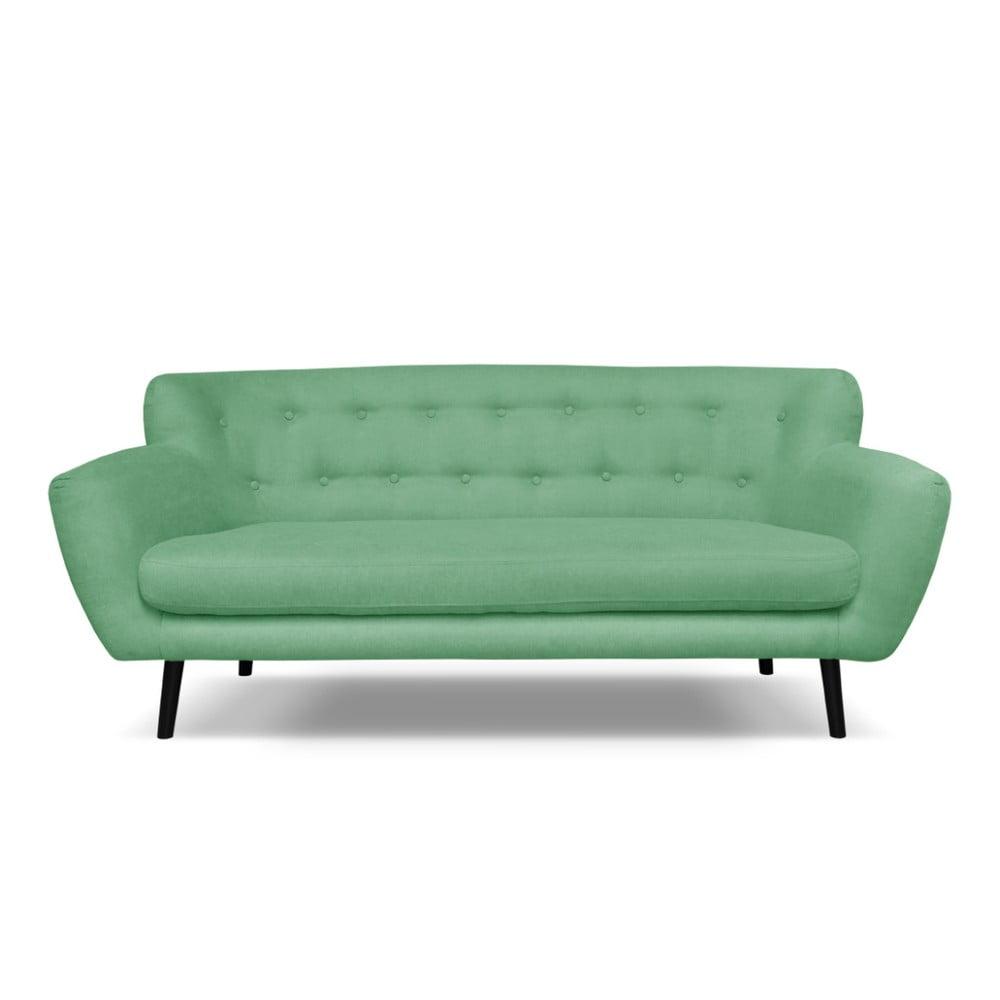 Zielona sofa Cosmopolitan design Hampstead, 192 cm