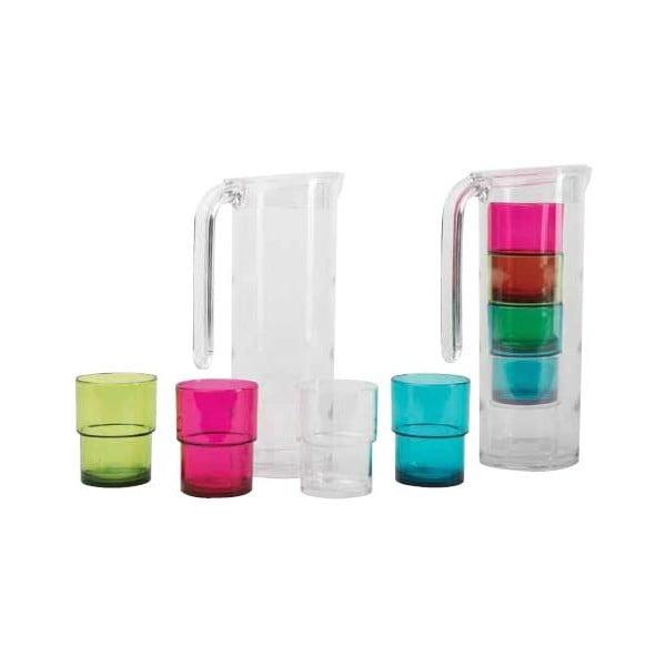Dzbanek i 4 szklanki