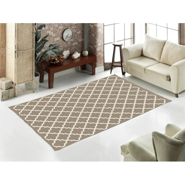 Beżowy dywan Home De Bleu Madalyon, 120x180 cm