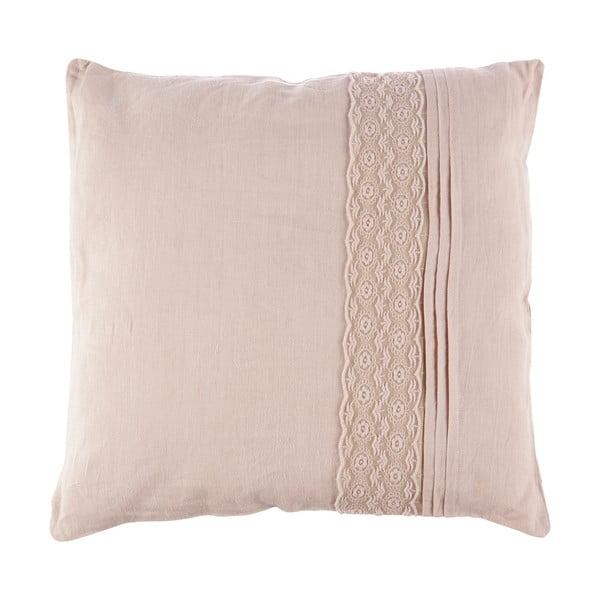 Poduszka Dente Pale Pink, 40x40 cm