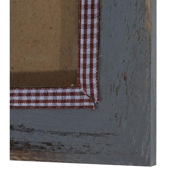 Szara ramka na zdjęcia Mendler Shabby, 21x26 cm
