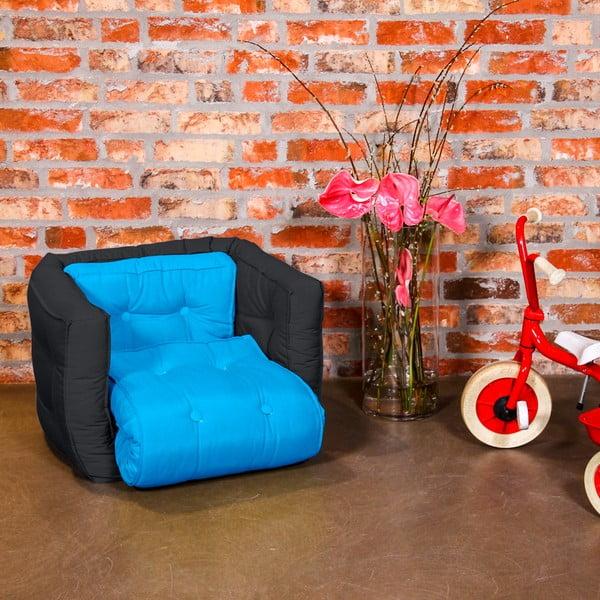 Fotel dziecięcy Karup Baby Dice Horizon Blue/Gray