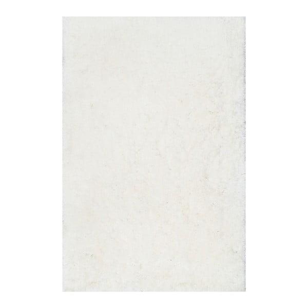 Biały dywan tuftowany ręcznie nuLOOM Fluffy White, 152x244 cm