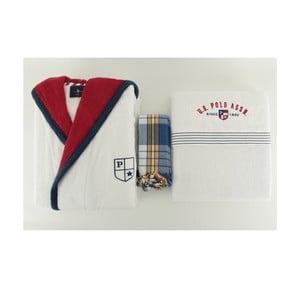 Zestaw męskiego szlafroka i 2 ręczników U.S. Polo Assn. Nebraska, roz. L/XL