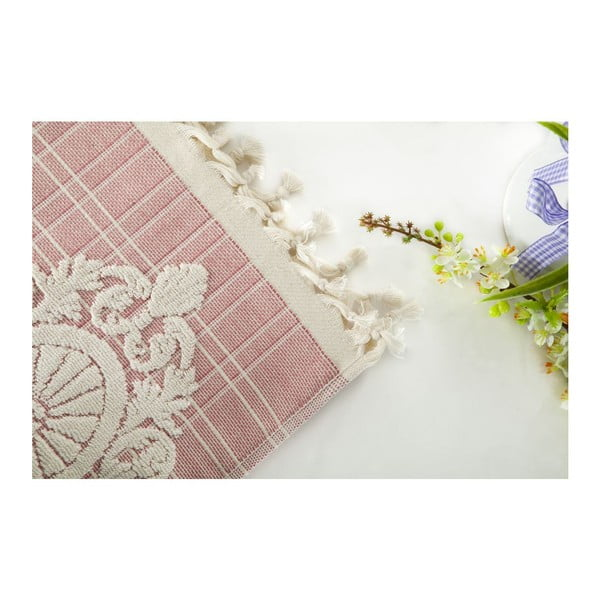 Zestaw 2 ręczników Eftelya Pink, 50x90 cm