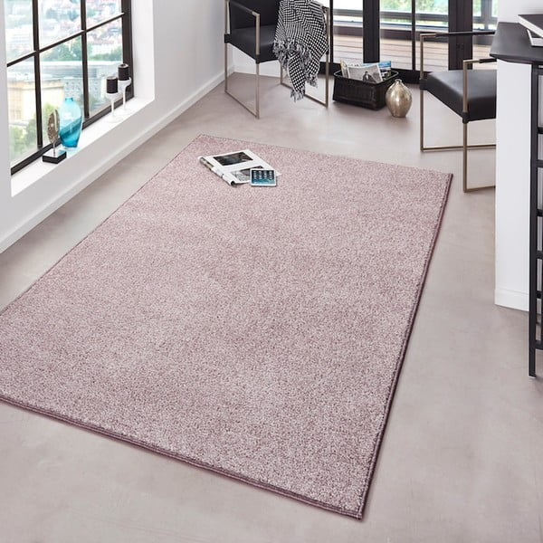 Różowy dywan Bougari Pure, 160x240 cm