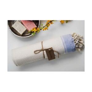 Ręcznik hamam Jacquard Beige, 100x180 cm