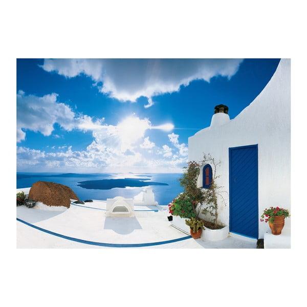 Wielkoformatowa tapeta Santorini, 366x254 cm