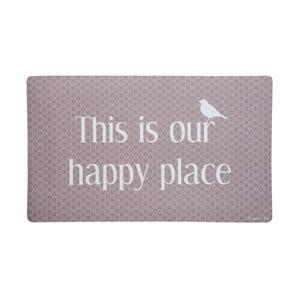 Wycieraczka This is Our Happy Place, 73x44 cm