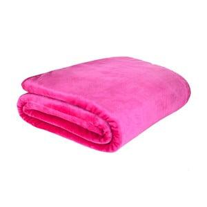 Koc Plain Raschel Pink, 150x200 cm
