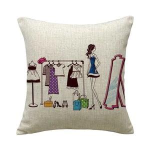Poszewka na poduszkę Lady, 45x45 cm