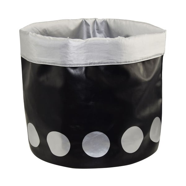Koszyk Dots Black, 40 cm