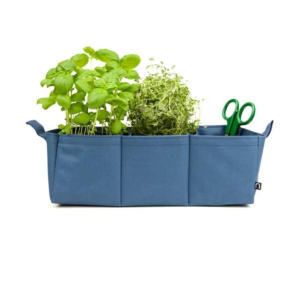 Doniczka Herbie, niebieska