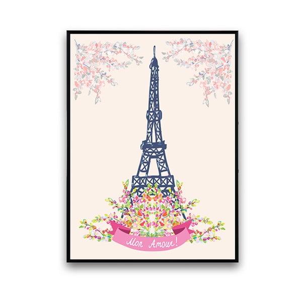 Plakat Mon Amour!, 30 x 40 cm