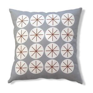 Poszewka na poduszkę Stars Gray, 45x45 cm