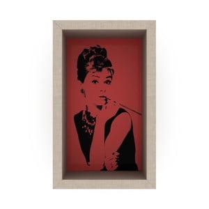 Czerwona półka Rafevi Audrey