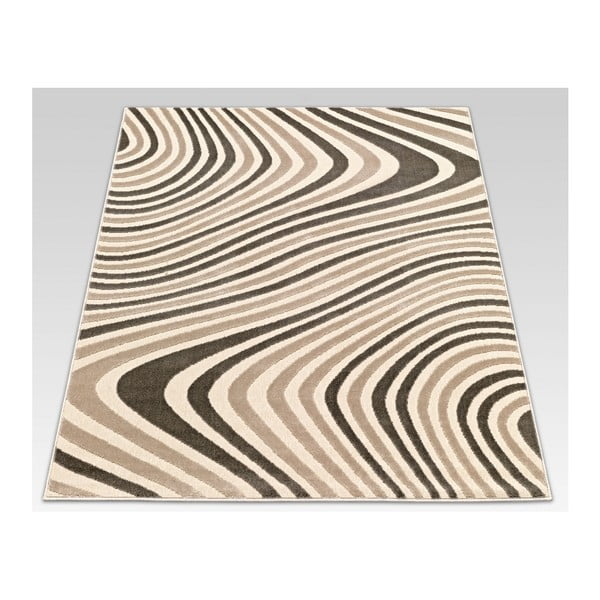 Dywan Webtappeti Reflex Brown Stripes, 140x200 cm