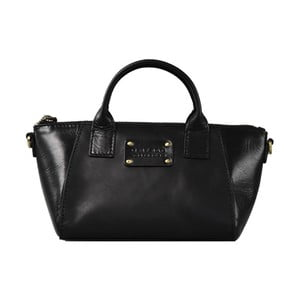 Czarna torebka skórzana  O My Bag Fly Violet Nano