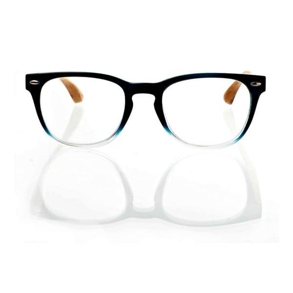 Drewniane okulary optyczne Eyewear Nacre Blue