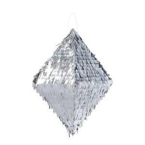 Papierowa dekoracja Metalic Silver Pinata