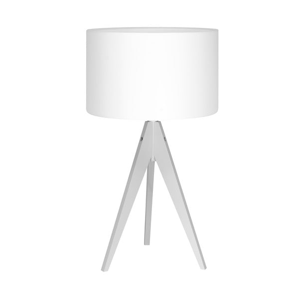 Lampa stołowa Artist White/White, 40x33 cm