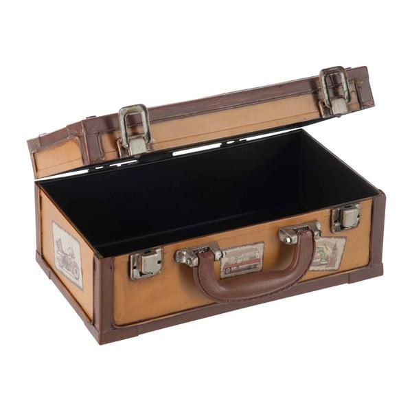 Pudełko na chusteczki Suitcase Cappuccino