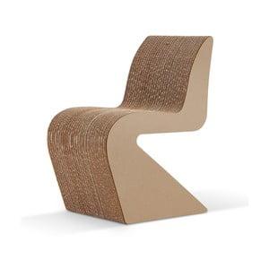 Kartonowe krzesło Amanda Natural