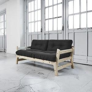 Sofa rozkładana Karup Step Natural/Dark