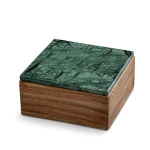 Pudełko z marmurowym wieczkiem NORDSTJERNE, 12,5x12,5 cm