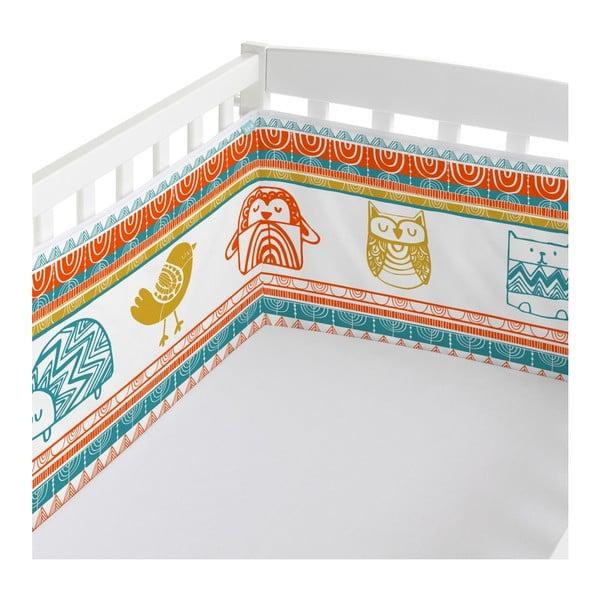 Ochraniacz do łóżeczka Moshi Moshi Teepee, 210x40 cm