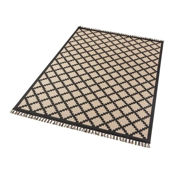 Beżowo-czarny dywan Hanse Home Intense Duro, 160x230 cm