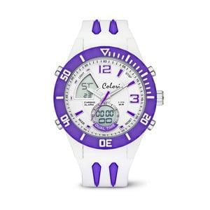 Zegarek Colori Anadigi 48 White Neon Purple
