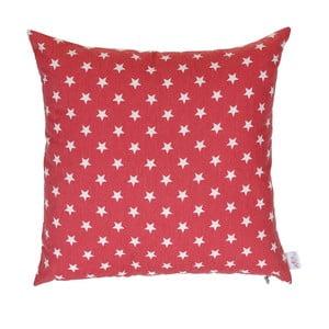 Czerwona, świąteczna poszewka na poduszkę Apolena Shine Sky, 43x43 cm