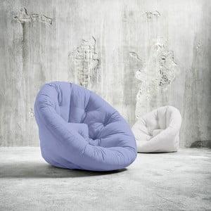 Fotel rozkładany Karup Nido Blue Breeze