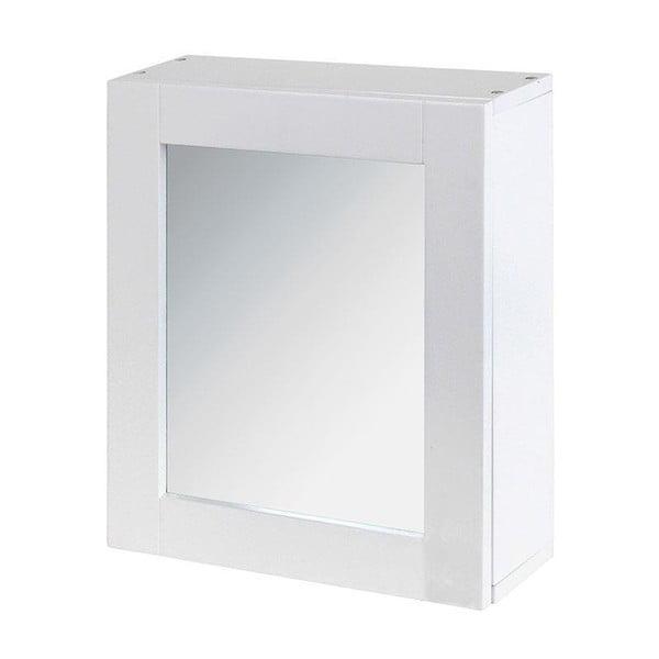 Lustro i szafka w jednym In White, 35x30 cm